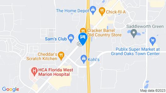 Fairfield Inn & Suites by Marriott Ocala Map