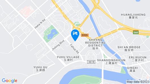 GreenTree Inn Taizhou Tiantai Bus Station Express Hotel Map