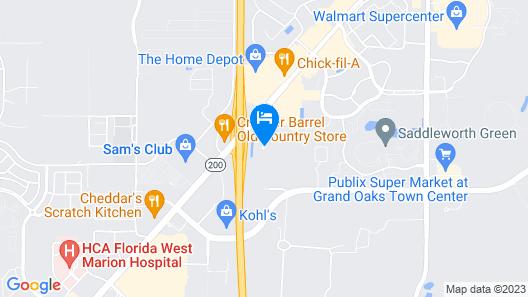 Hilton Ocala Map