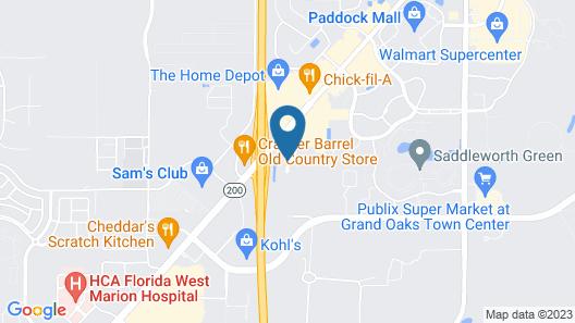La Quinta Inn & Suites by Wyndham Ocala Map