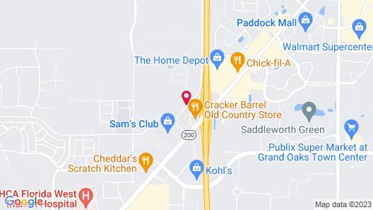 Residence Inn Marriott Ocala Map