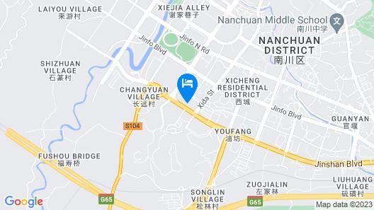Days Hotel & Suites by Wyndham Hengan Chongqing Map