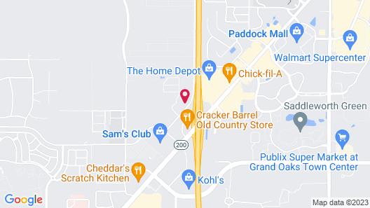Holiday Inn Express & Suites Ocala, an IHG Hotel Map