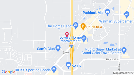 Holiday Inn Hotel and Suites Ocala Conference Center, an IHG Hotel Map