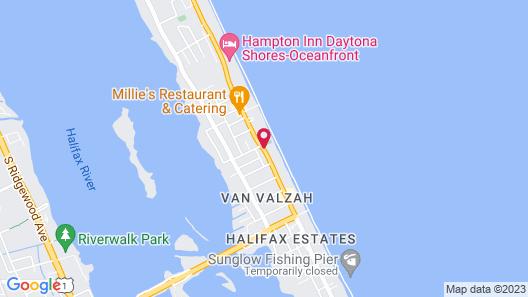 Holiday Inn Express & Suites Oceanfront, an IHG Hotel Map
