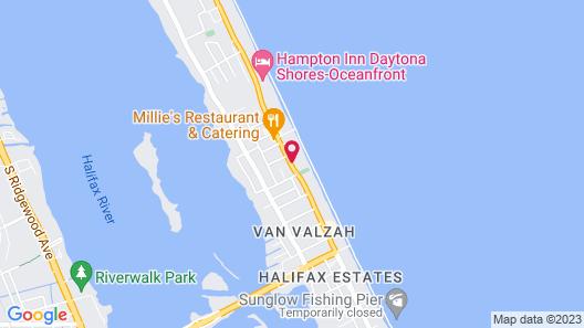 Atlantic Ocean Palm Inn Map