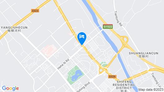 Ramada Taizhou Map