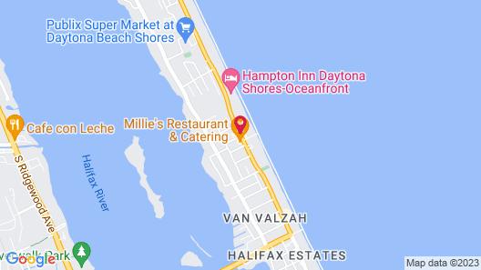 Residence Inn by Marriott Daytona Beach Oceanfront Map