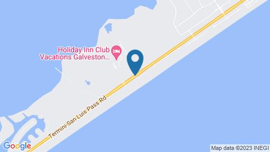 Holiday Inn Club Vacations Galveston Seaside Resort Map