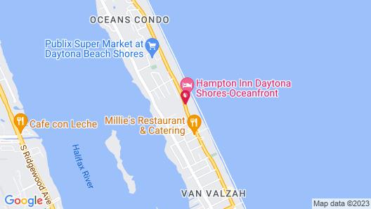 Hyatt Place Daytona Beach - Oceanfront Map