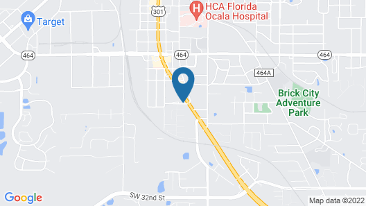 Ocala Cove Motel Map