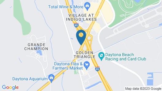 Days Inn by Wyndham Daytona Beach Speedway Map