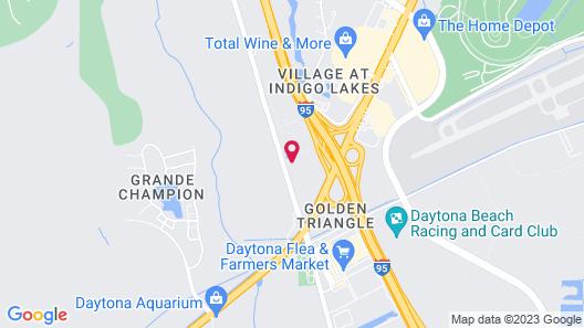 WoodSpring Suites Daytona Beach Int'l Speedway Map