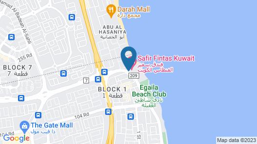 Safir Fintas Kuwait Hotel Map