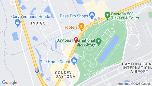 Quality Inn Daytona Speedway I-95 Map