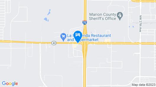 Super 8 by Wyndham Ocala I-75 Map