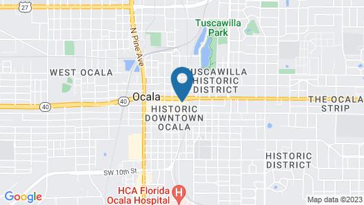 Hilton Garden Inn Ocala Downtown Map