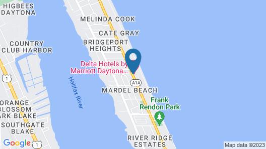 Delta Hotels by Marriott Daytona Beach Map