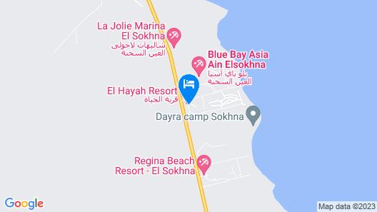 Alhayat Ain El Sokhna Map