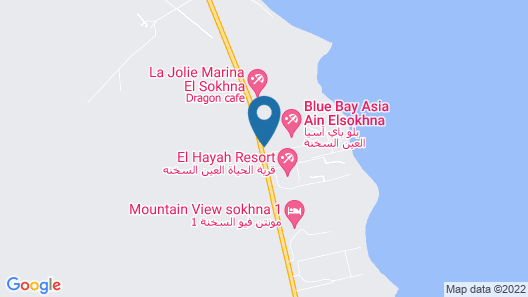 Blue Bay Asia Resort El Sokhna Map