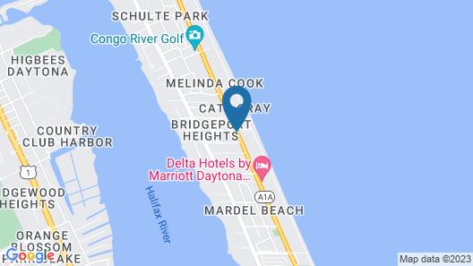 Ocean Court Motel Map