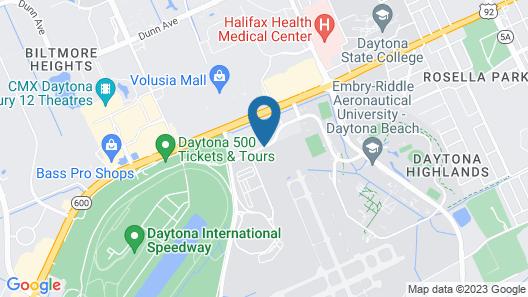 Residence Inn by Marriott Daytona Beach Speedway/Airport Map