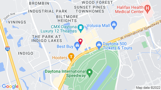 The Daytona, Autograph Collection Map
