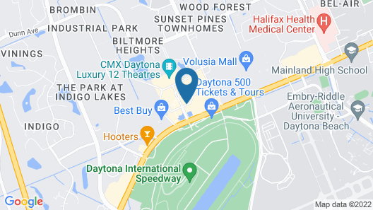 Fairfield Inn & Suites by Marriott Daytona Beach Speedway/Airport  Map