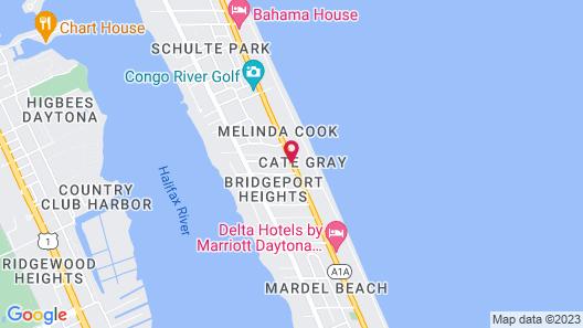 Shore Winds Motel Map