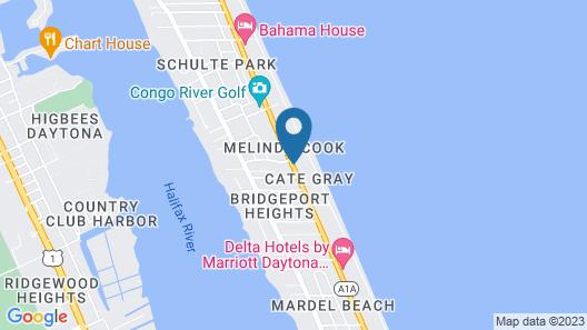 Best Western Aku Tiki Inn Map