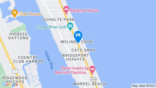 Perry's Ocean Edge Resort Map