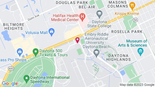 Courtyard by Marriott Daytona Beach Speedway/Airport Map