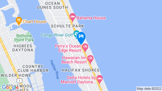 El Caribe Resort & Conference Center Map
