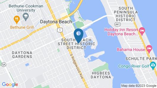 Live Oaks Inn Map