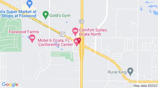 Motel 6 Ocala, FL - Conference Center Map