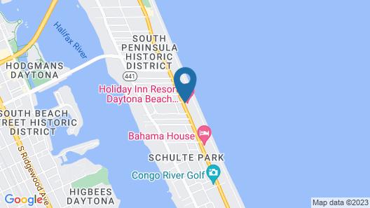 Holiday Inn Resort Daytona Beach Oceanfront, an IHG Hotel Map