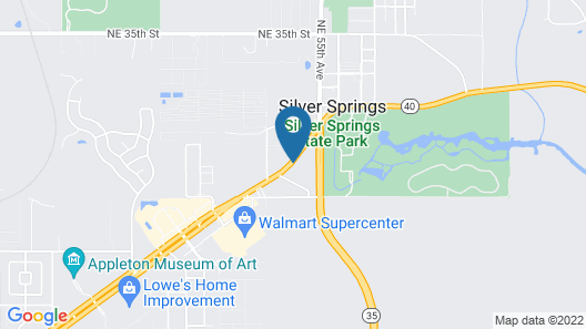 Holiday Inn Express Hotel & Suites Silver Springs - Ocala Map