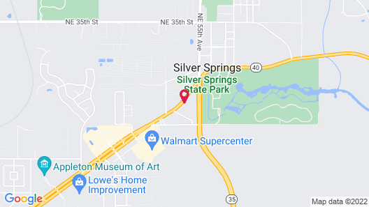 Holiday Inn Express Hotel & Suites Silver Springs - Ocala, an IHG Hotel Map