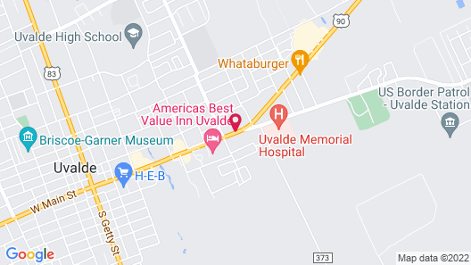 Inn of Uvalde Map