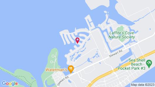 3409 Galveston - 4 Br Home Map