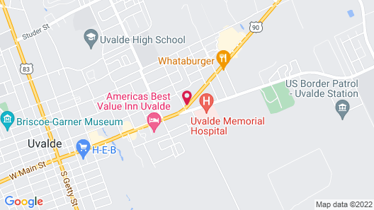 Days Inn by Wyndham Uvalde Map