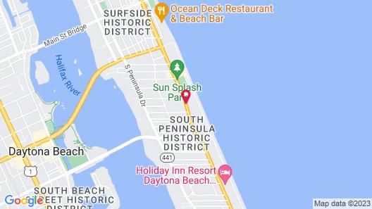 Atlantic Economy Inn Map