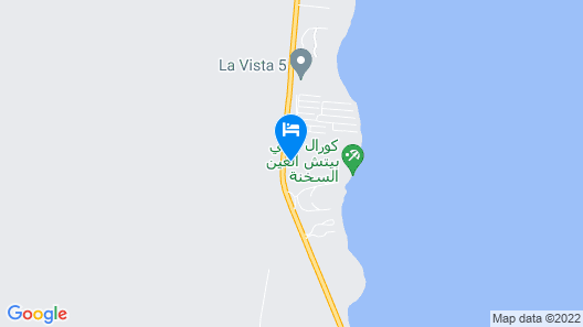 Coral Sea Beach & Aqua Park Map