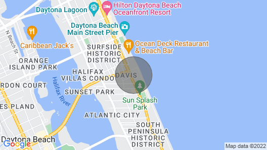 Ocean View at Fountains Resort Map