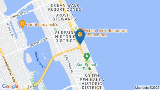 Daytona Inn Beach Resort Map