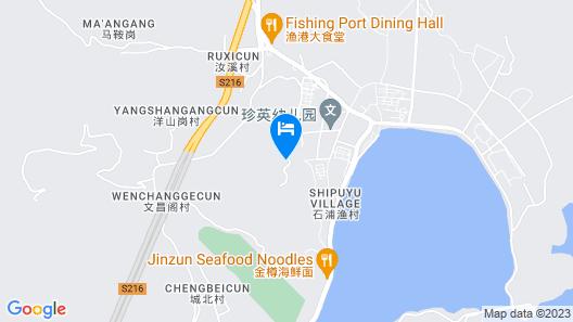 Shipu New Century Hotel Xiangshan Map