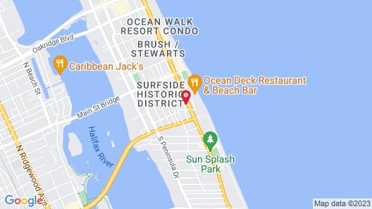 Streamline Hotel Map