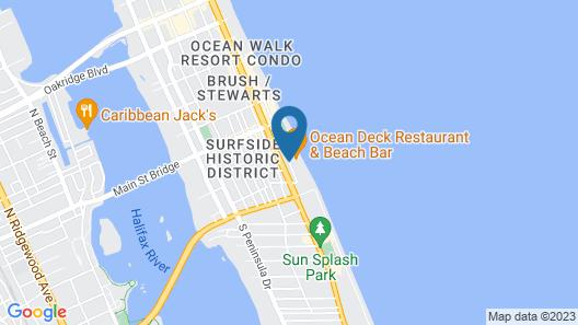 Sandals Inn Map