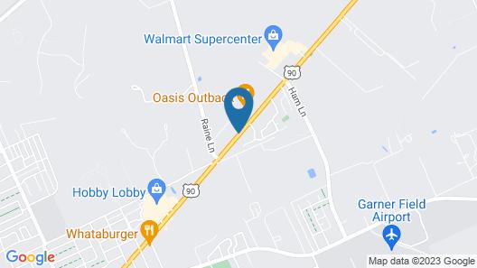 Hampton Inn Uvalde Map
