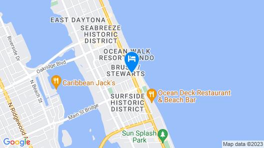 Hilton Daytona Beach Oceanfront Resort Map